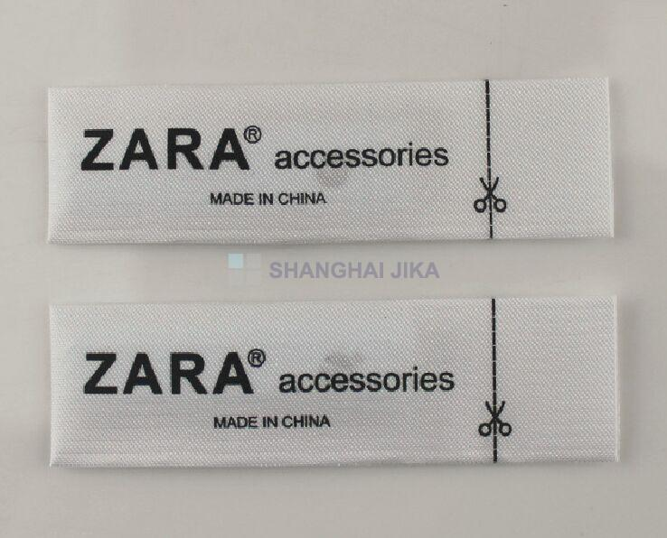 ZARA Source Label